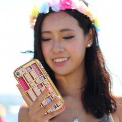 【 水晶を使ったケージデザイン】  iPhone SE(第2世代/2020年発売) / 8/7/6s/6 Caged Crystal Case Rose Gold ケージ クリスタル ケース