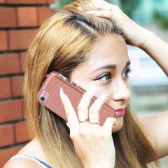 【 2層構造でしっかりと保護】  iPhone SE(第2世代/2020年発売) / 8/7/6s/6 Hybrid Tough Mag Case Rose Gold / Clear