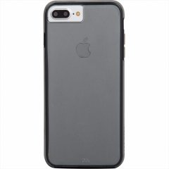 【iPhone ケース 2層構造で保護】 iPhone8 Plus/7 Plus/6s Plus/6 Plus Hybrid Tough Naked Case Smoke / Black