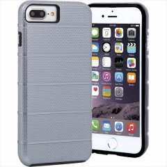 iPhone8 Plus ケース 2層構造で保護 iPhone8 Plus/7 Plus/6s Plus/6 Plus Hybrid Tough Mag Case Space Grey/Black