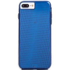 iPhone8 Plus ケース 2層構造で保護 iPhone8 Plus/7 Plus/6s Plus/6 Plus Hybrid Tough Translucent Case Clear/Blue