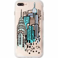 デザインプリント iPhone8 Plus/7 Plus/6s Plus/6 Plus  Hybrid Naked Tough City Print NY City View