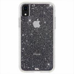 【クリスタルのきらめきが美しい】iPhoneXR Sheer Crystal-Clear