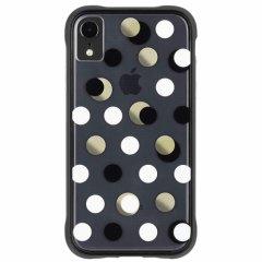 【メタリックドットが印象的なケース】iPhoneXR Wallpapers-Metallic Dot