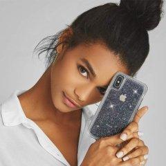 【クリスタルのきらめきが美しい】iPhoneXS Max Sheer Crystal-Clear