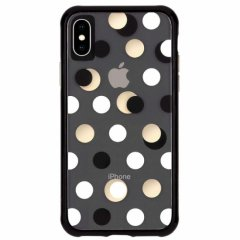 【メタリックドットが印象的なケース】iPhoneXS Max Wallpapers-Metallic Dot