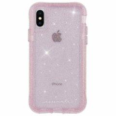 【クリスタルのきらめきが美しい】iPhoneXS/X Protection Collection Sheer Crystal-Blush