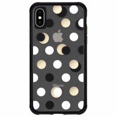 【メタリックドットが印象的なケース】iPhoneXS/X Wallpapers-Metallic Dot