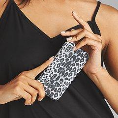 【大胆なプリントがインパクト大!】iPhoneXS/X Wallpapers-Gray Leopard