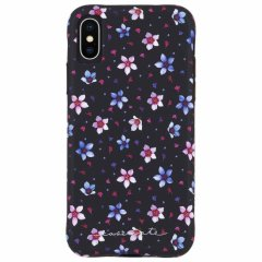 【大胆なプリントがインパクト大!】iPhoneXS/X Wallpapers-Floral Garden
