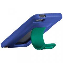 【ワンタッチでスタンドが飛び出すケース】 iPod touch 5th/6th Snap Case Blue/Green