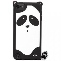 【かわいいパンダのケース】 iPod touch 5th/6th Creatures: Xing Panda Case Black