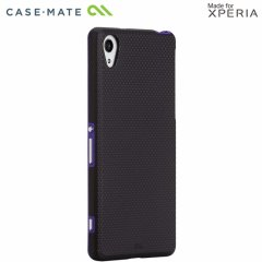 【衝撃に強いケース】 Sony Xperia Z2 docomo SO-03F Hybrid Tough Case Black / Purple
