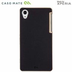 【2種の素材を使った薄いケース】 Sony Xperia Z2 docomo SO-03F Slim Tough Case Black / Gold