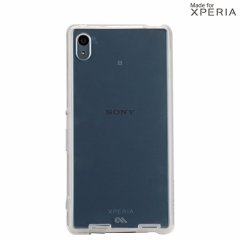 【卓上ホルダー対応の衝撃に強いケース】 Sony Xperia Z4 SO-03G/SOV31/402SO Hybrid Naked Tough Case Clear/Clear