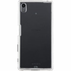 【卓上ホルダー対応の衝撃に強いケース】 Sony Xperia Z5 SO-01H/SOV32/501SO Hybrid Naked Tough Case Clear/Clear