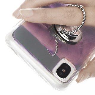 【自撮りにも最適! ドットリングがかわいい落下防止リング】Selfie Dotted Ring - Silver