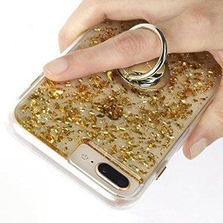 【自撮りにも最適! 指輪のような落下防止リング】Selfie Ring - Gold