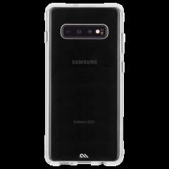 Galaxy S10+ ハード ケース カバー [耐衝撃・ワイヤレス充電対応・ハイブリッド・スリム構造] 透明 タフ クリア