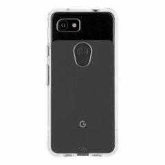 【スリムボディなのに耐衝撃性抜群!】 Google Pixel 3a Case - Tough - Clear