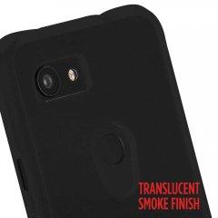 【スリムボディなのに耐衝撃性抜群!】Google Pixel3a Tough-Smoke