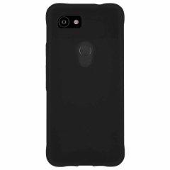 【スリムボディなのに耐衝撃性抜群!】Google Pixel3aXL Tough-Smoke