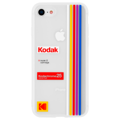 【Case-Mate×Kodak コラボレーション】  iPhone 8 / 7 / 6s / 6 Case Kodak Striped Kodachrome Super 8