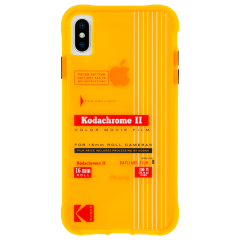 【Case-Mate×Kodak コラボレーション】  iPhone X/XS Case Kodak Vintage Kodachrome II Print