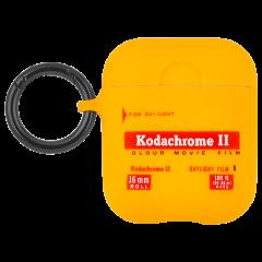 【Case-Mate×Kodak コラボ・AirPods全機種対応・ワイレス充電OK】  Kodak Vintage Kodachrome II Print Case for AirPods