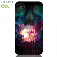 【衝撃に強いデザインケース】 iPhone 4S/4 Hybrid Tough Case, Dark Lights I