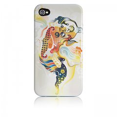 【衝撃に強いデザインケース】 iPhone 4S/4 Hybrid Tough Case, Goldenfish