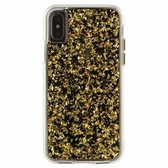 【ゴールドの金箔を大胆にデザイン】iPhoneXS/X Karat - Gold