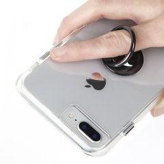 【自撮りにも最適! 指輪のような落下防止リング】Selfie Ring - Black