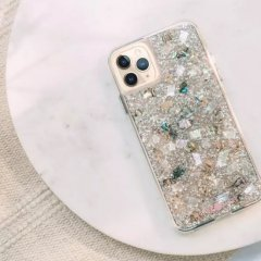 【本物の真珠貝を使用!美しく可愛いケース】iPhone 11 / 11 Pro / 11 Pro Max Case Karat Pearl