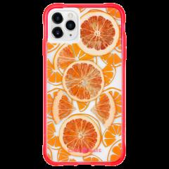 【本物のフルーツが入った、フルーツケース】 iPhone 11 / 11 Pro / 11 Pro Max Case Tough Juice - Fresh Citrus