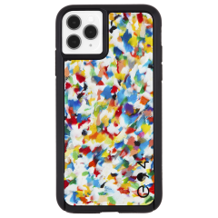 iPhone 11 / 11 Pro / 11 Pro Max Case ECO94 RECYCLED Eco Friendly Material Rainbow Confetti