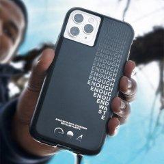 【リサイクル素材で作られたiPhoneケースで地球にメッセージ!】 iPhone 11 / 11 Pro / 11 Pro Max Case Eco94 Recycled Enough