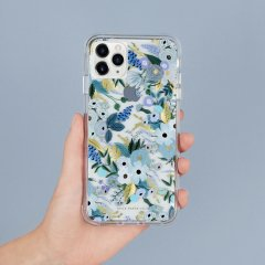 【RIFLE PAPERとのコラボ】 iPhone 11 / 11 Pro / 11 Pro Max Case RIFLE PAPER - Garden Party - Blue