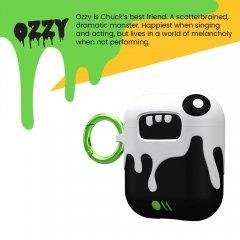 【エアポッドケース・AirPods 第1世代・第2世代・ワイヤレス充電OK・かわいいステッカー付】 AirPods Case CreaturePods - OZZY