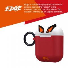 【エアポッドケース・全機種対応・ワイヤレス充電OK・かわいいステッカー付】 AirPods Case CreaturePods - EDGE