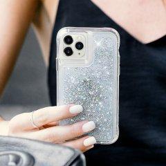 【ラメが滝のように流れるおしゃれなケース】iPhone 11 / 11 Pro / 11 Pro Max Case Waterfall Iridescent