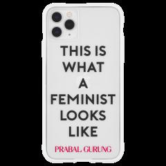 【世界のセレブが認めるデザイナー作品】PRABAL GURUNG iPhone 11 / 11 Pro / 11 Pro Max Case Tough Feminist - White