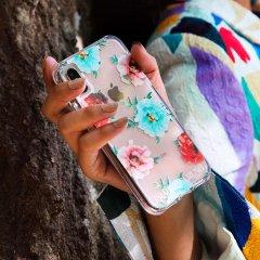 【世界のセレブが認めるデザイナー作品】PRABAL GURUNG iPhone 11 / 11 Pro / 11 Pro Max Case Tough Embroidered Floral Clear
