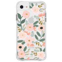 【RIFLE PAPERとのコラボ】iPhone SE(第2世代/2020年発売) / 8 / 7 / 6s / 6 Case RIFLE PAPER - Wild Flowers