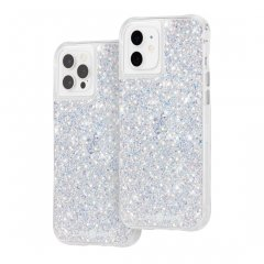 【夜空にきらめく星のような美しさ!+抗菌仕様】iPhone 12 / iPhone 12 Pro 共用 Twinkle - Stardust w/ Micropel