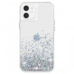 【美しい輝き!+抗菌仕様】iPhone 12 mini Twinkle Ombré - Black w/ Micropel