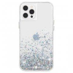 【美しい輝き!+抗菌仕様】iPhone 12 Pro Max Twinkle Ombré - Black w/ Micropel