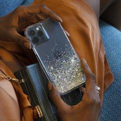 【金色に美しく輝く!+抗菌仕様】iPhone 12 Pro Max Twinkle Ombré - Gold w/ Micropel