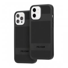 【Pelican × Case-Mate 抗菌仕様】iPhone 12 / iPhone 12 Pro Pelican Protector - Black w/ Micropel