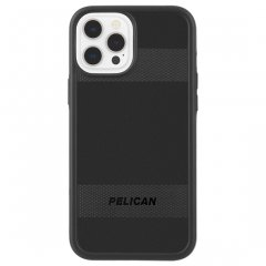 【Pelican × Case-Mate 抗菌仕様】iPhone 12 Pro Max Pelican Protector - Black w/ Micropel